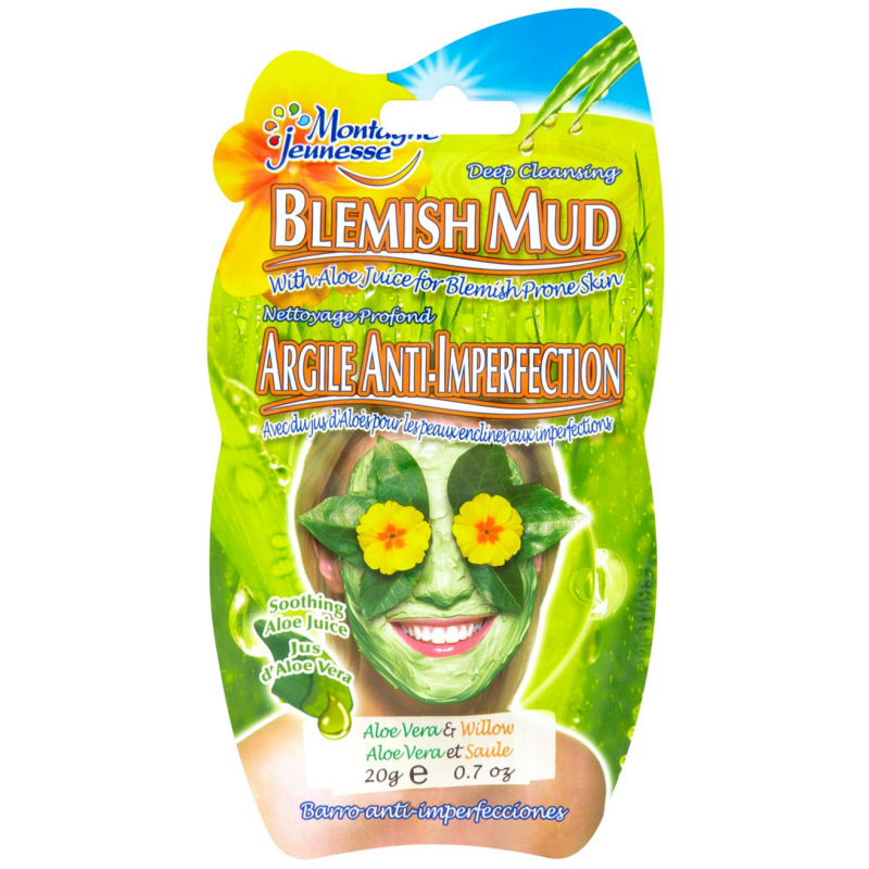 Montagne Jeunesse Mud Mask Cleanse Aloe Vera