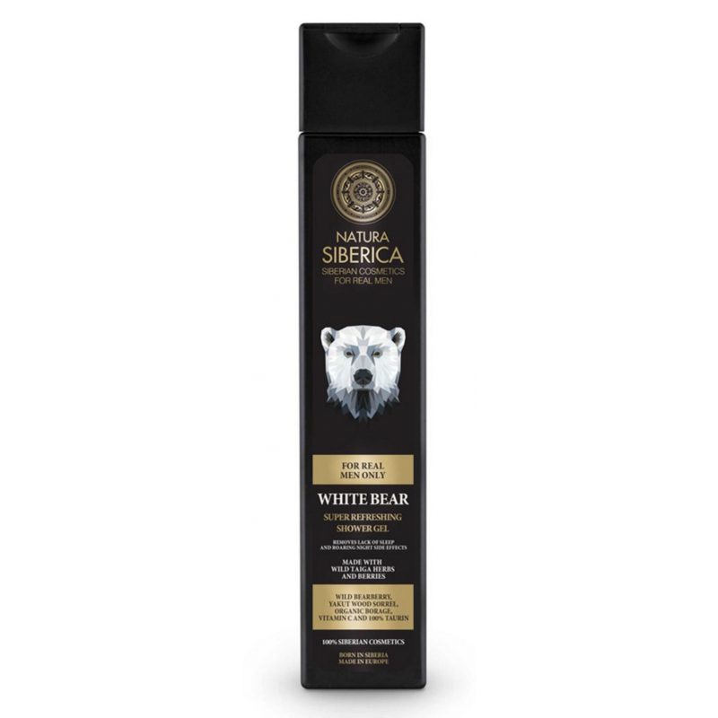 Natura Siberica Men White Bear Shower Gel