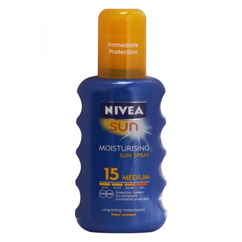 Nivea Sun Spray Medium SPF 15