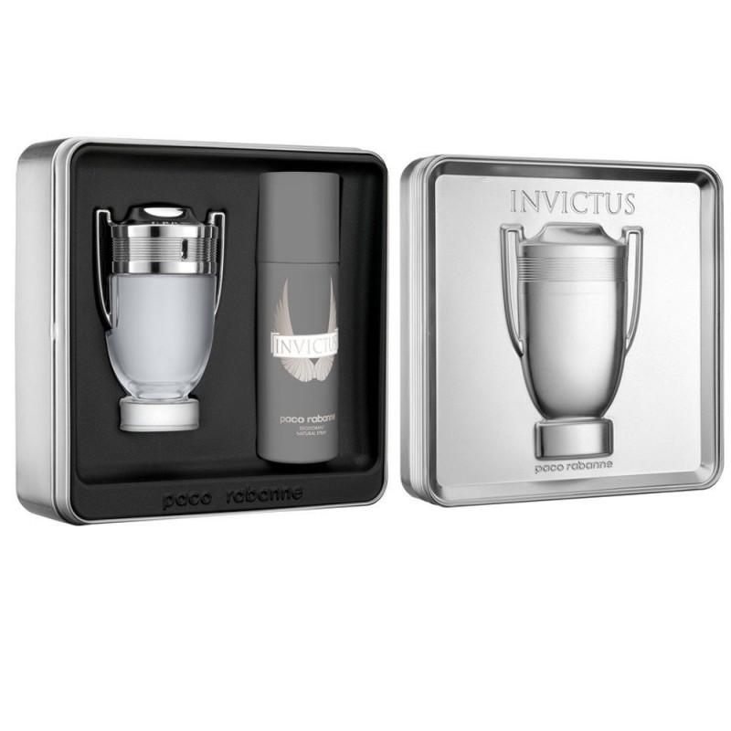 Paco Rabanne Invictus EDT & Invictus Deodorant