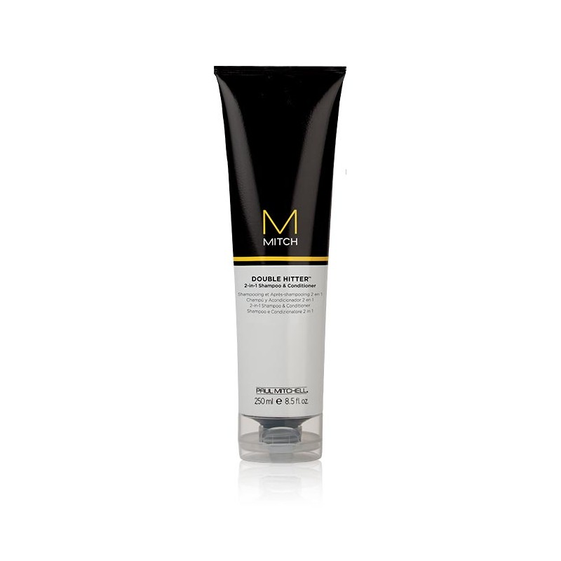 Paul Mitchell Mitch Double Hitter 2-in-1 Shampoo & Conditioner