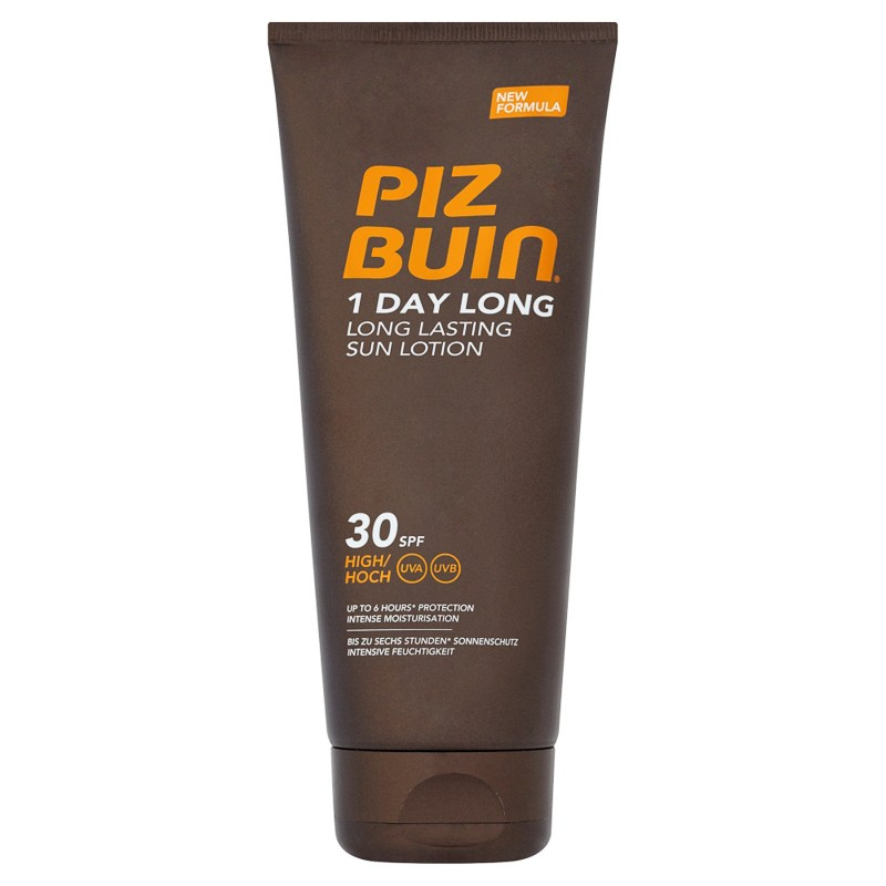 Piz Buin 1 Day Long Lasting Sun Lotion SPF30