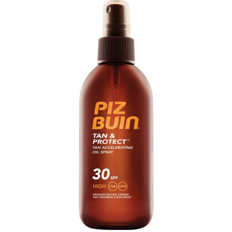 Piz Buin Tan & Protect Tan Acceleration Oil Spray - SPF30