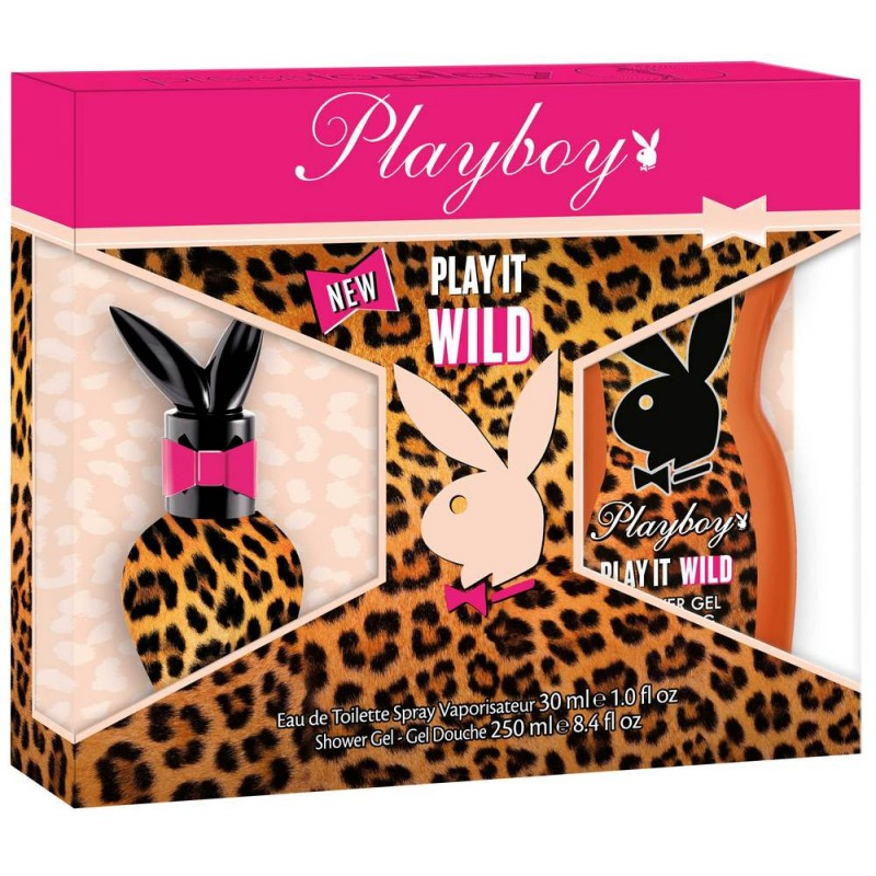 Playboy Play It Wild EDT & Showergel