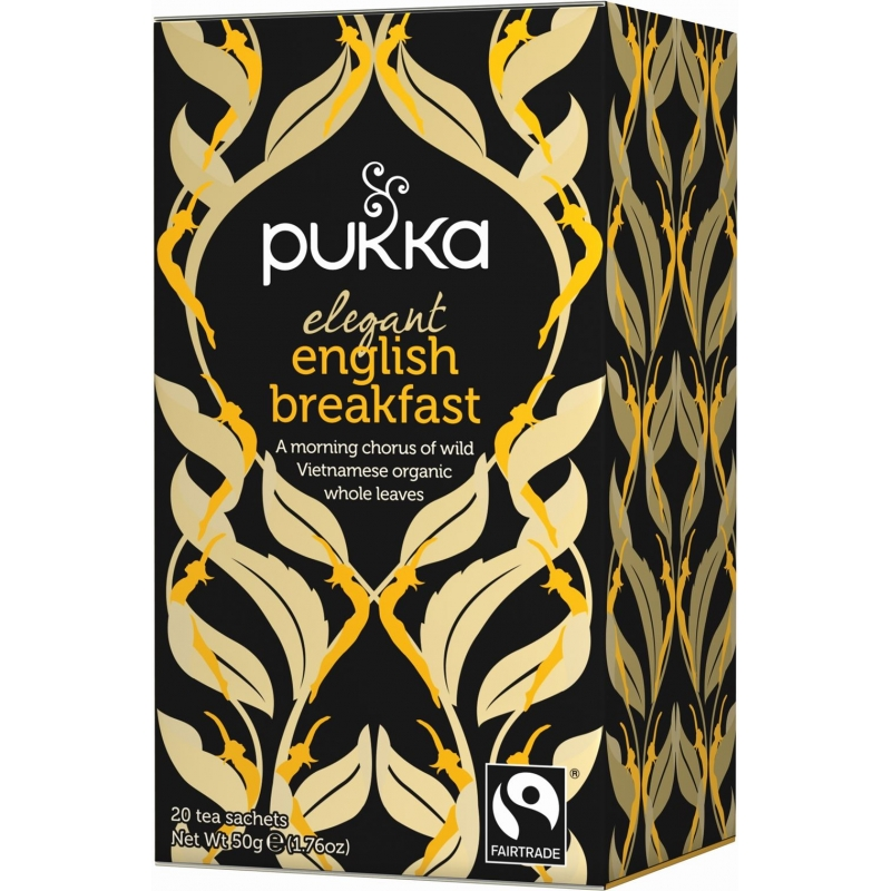 Pukka Elegant English Breakfast Tea Organic