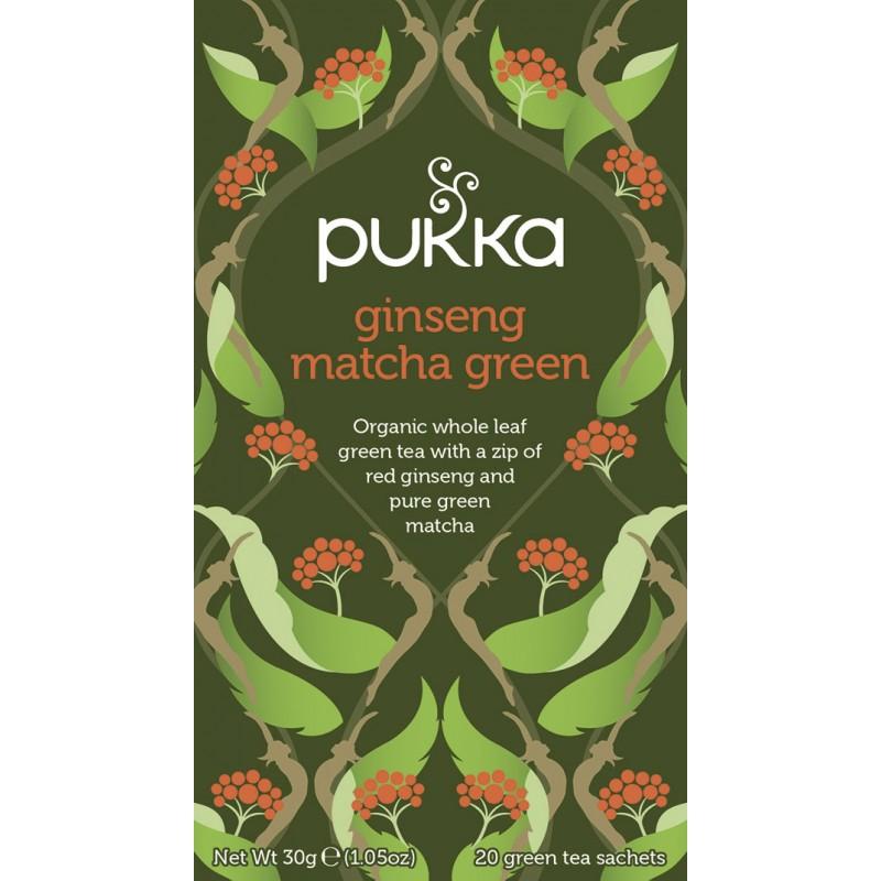 Pukka Ginseng Matcha Green Tea Øko