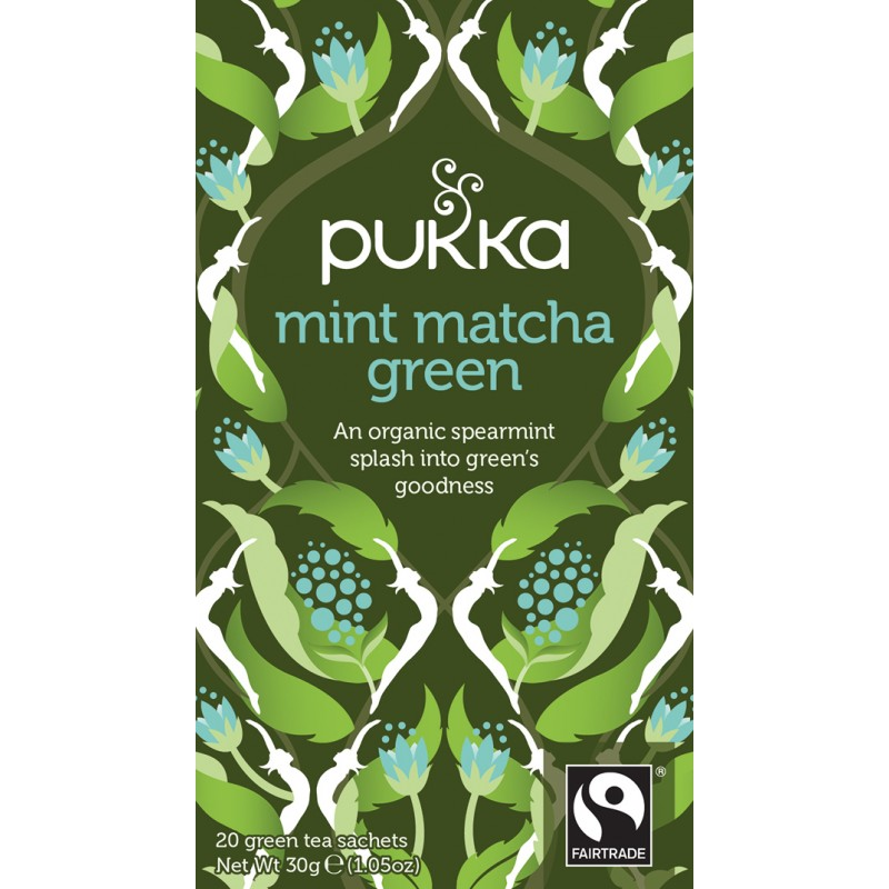 Pukka Mint Matcha Green Tea Øko