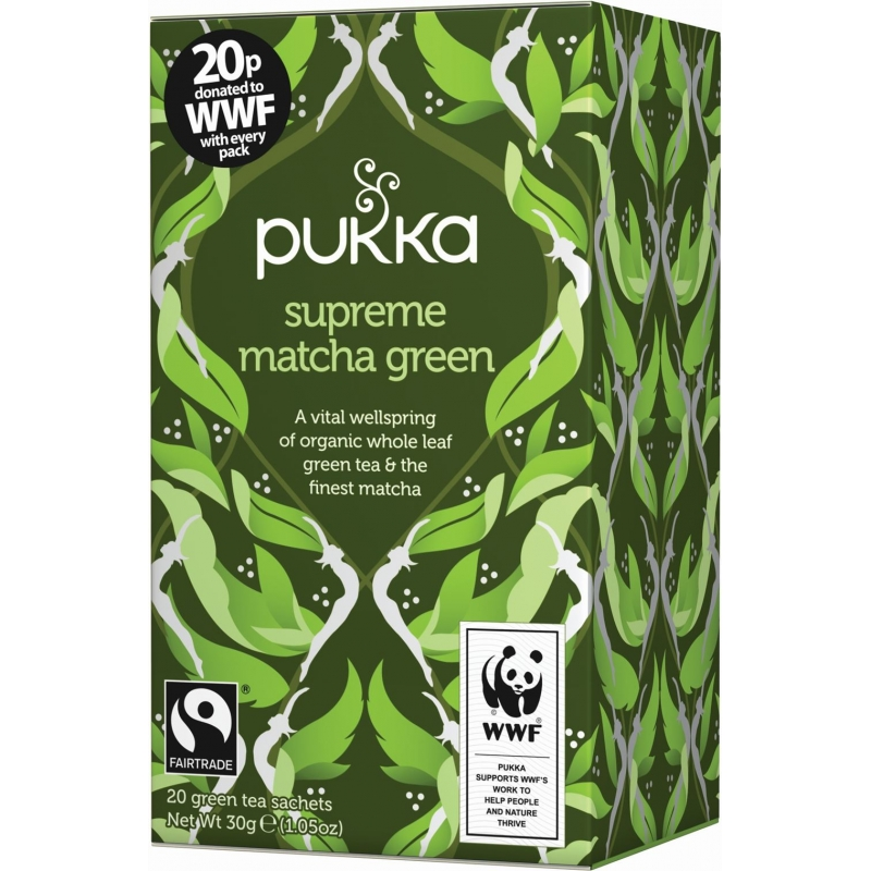 Pukka Supreme Matcha Green Tea Eco