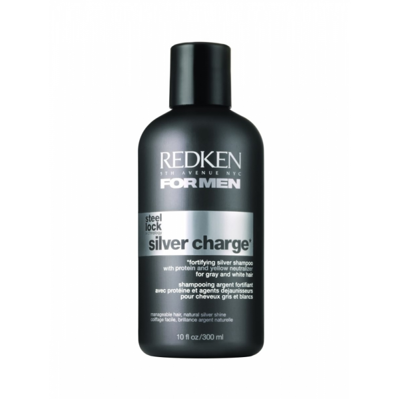 Shampoo ⋅ ⋅ 300 ml. Redken For Men Steel Silver Charge Shampoo 5dc9ff8c0e82