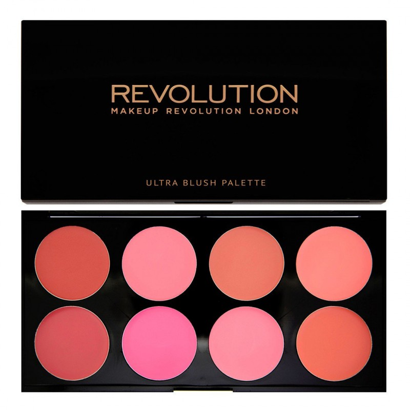 Revolution Makeup Blush & Contour Palette All About Cream
