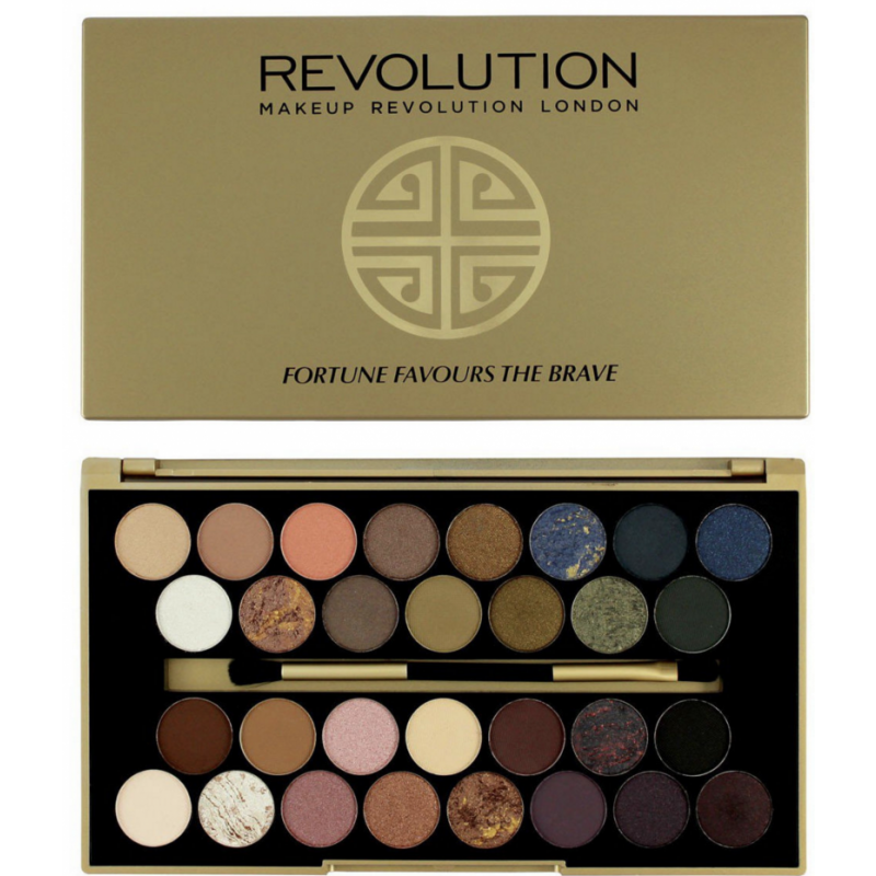 Revolution Makeup Eyeshadow Palette Fortune Favours The Brave