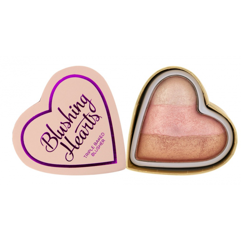 I Heart Makeup Blushing Hearts Triple Baked Blusher Iced Hearts