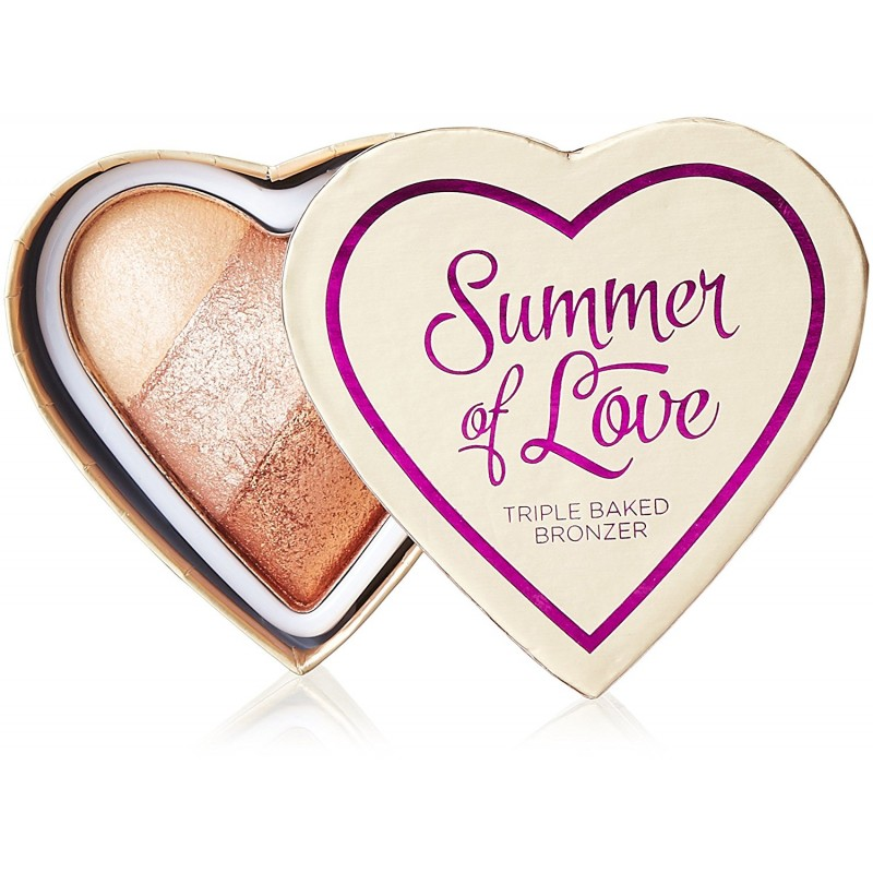 I Heart Makeup Summer Of Love Triple Baked Bronzer Hot Summer Of Love