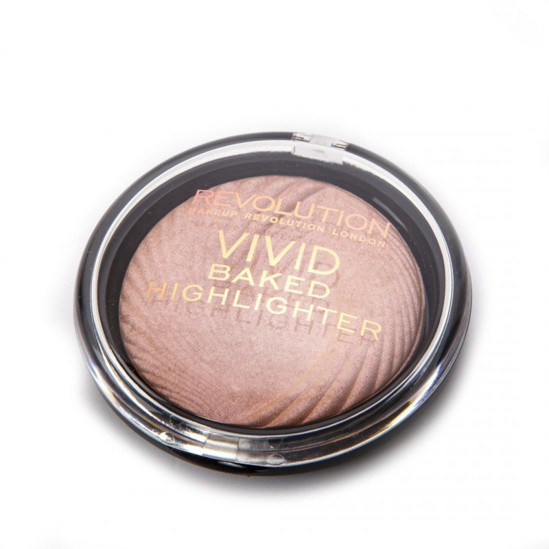 Revolution Makeup Vivid Baked Highlighter Peach Lights