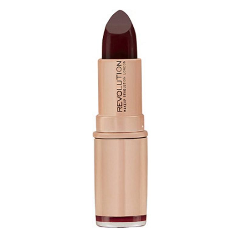 Revolution Makeup Rose Gold Lipstick Diamond Life
