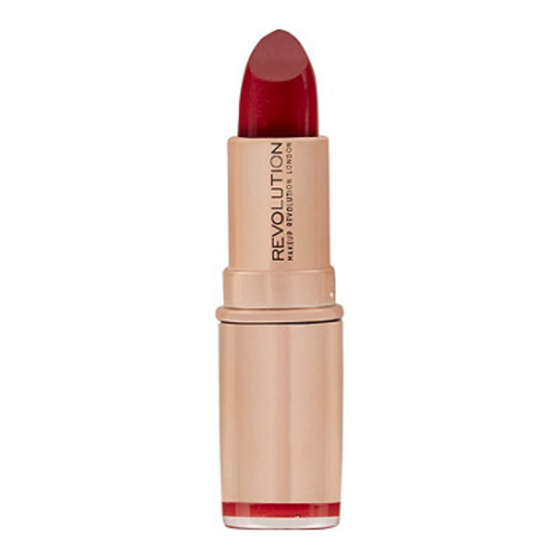 Revolution Makeup Rose Gold Lipstick Red Carpet