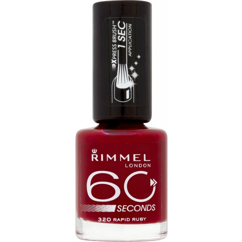 Rimmel 60 Seconds 320 Rapid Ruby