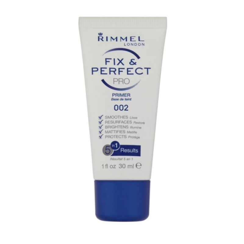 Rimmel Fix & Perfect Pro 5 in 1 Face Primer 002