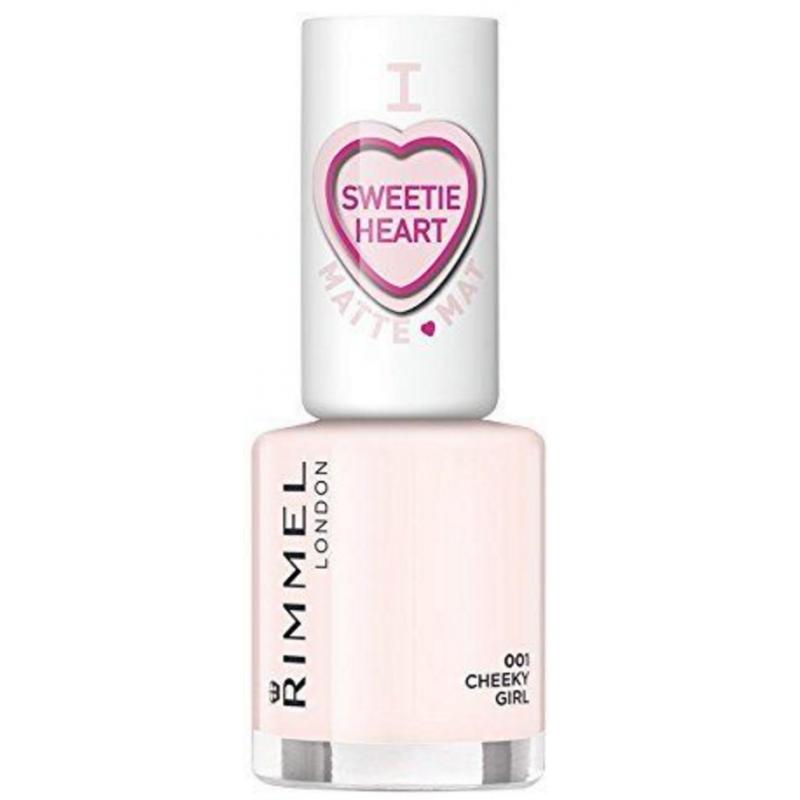 Rimmel I Love Sweetie Heart Matte 001 Cheeky Girl