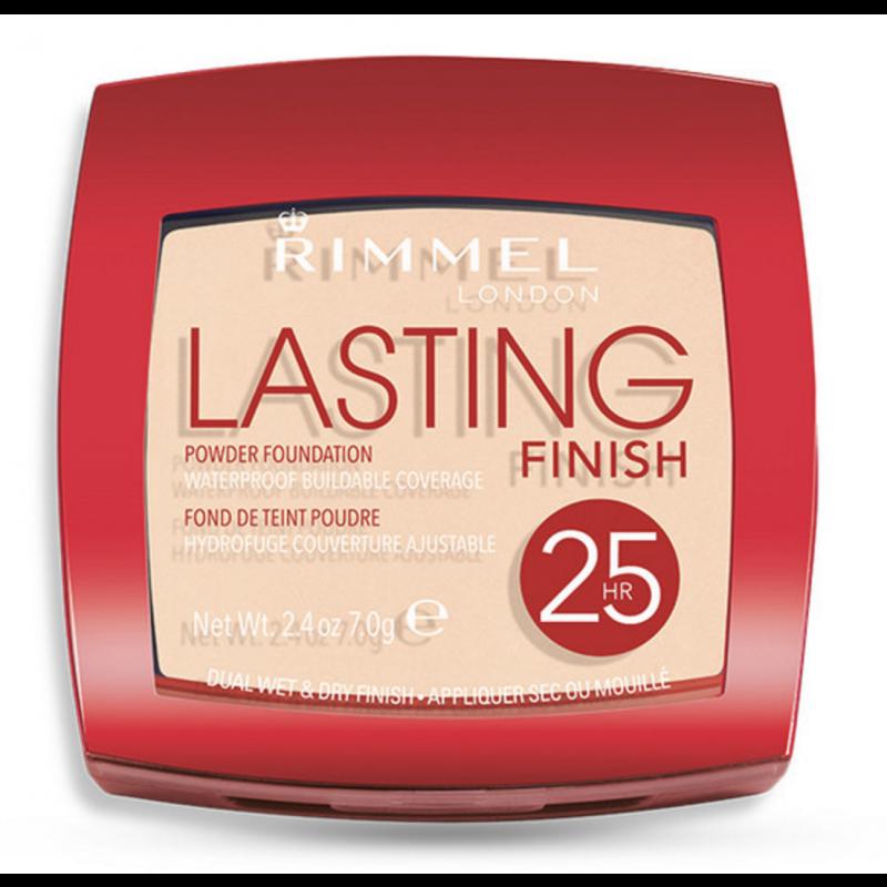 Rimmel Lasting Finish 25h Powder Foundation 001 Light Porcelain