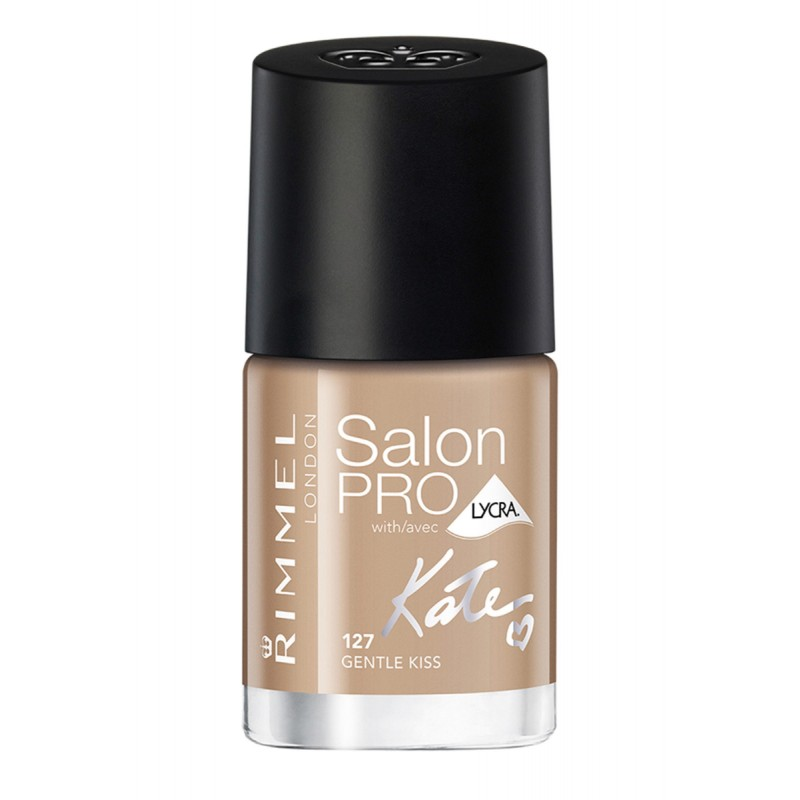 Rimmel Salon Pro By Kate Moss Nail Polish 127 Gentle Kiss 12 ml - £1.75