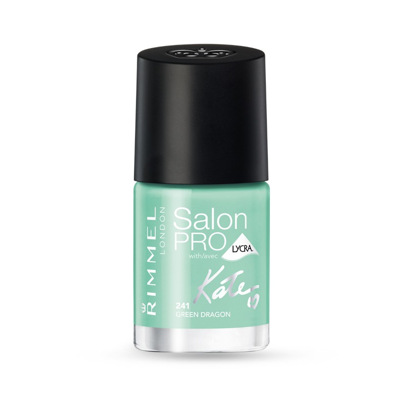 Rimmel Salon Pro By Kate Moss Nail Polish 241 Green Dragon