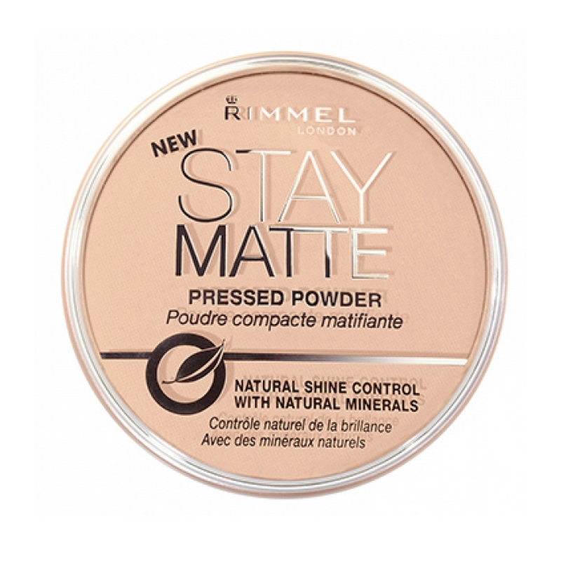 Rimmel Stay Matte Pressed Powder 005 Silky Beige