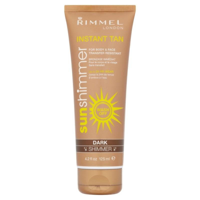 Rimmel Sunshimmer Instant Tan Dark Shimmer