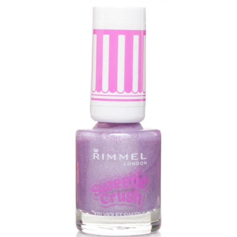 Rimmel Sweetie Crush Nail Polish 011 Violet Swizzle