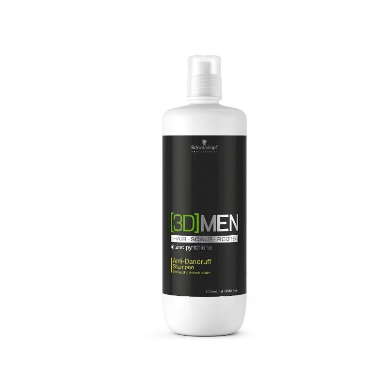 Schwarzkopf 3D Men Anti Dandruff Shampoo