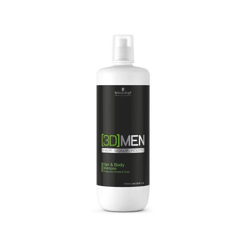 Schwarzkopf 3D Men Hair & Body Shampoo