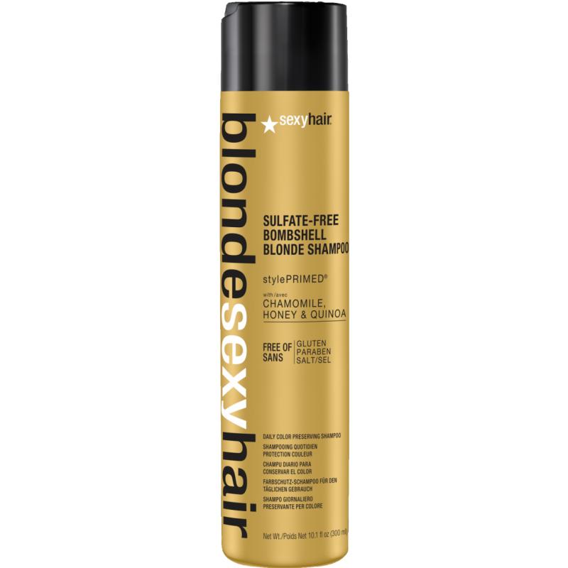 Sexy Hair Sulfate-Free Bombshell Blonde Shampoo