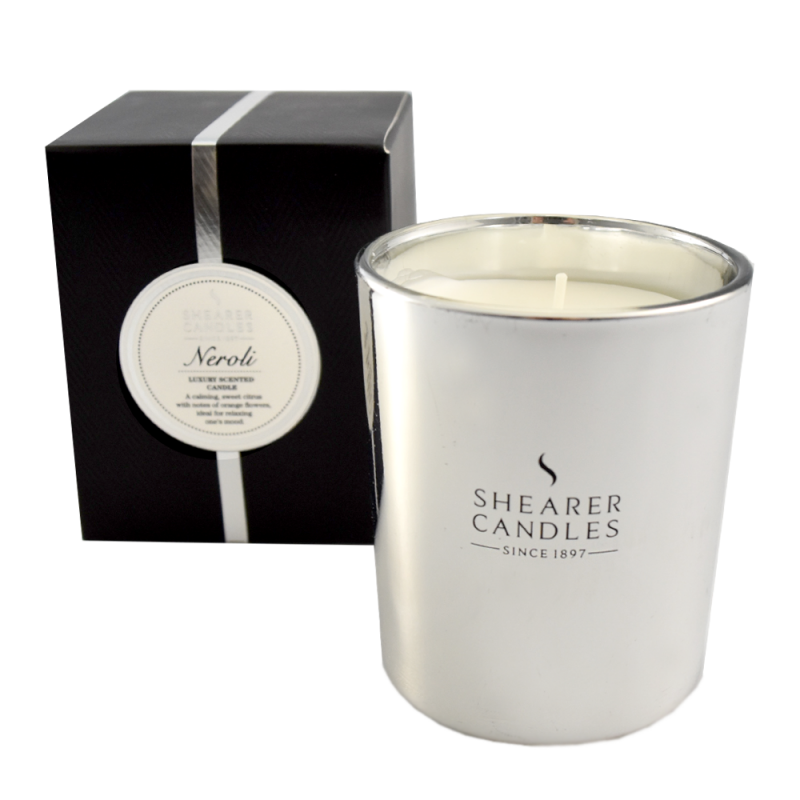Shearer Candles Duftlys Metallic Silver Neroli Gift Box
