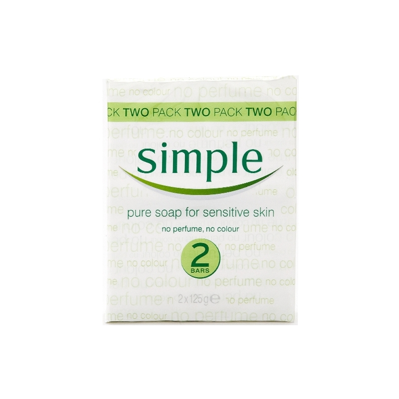 Simple Pure Soap Twin Pack
