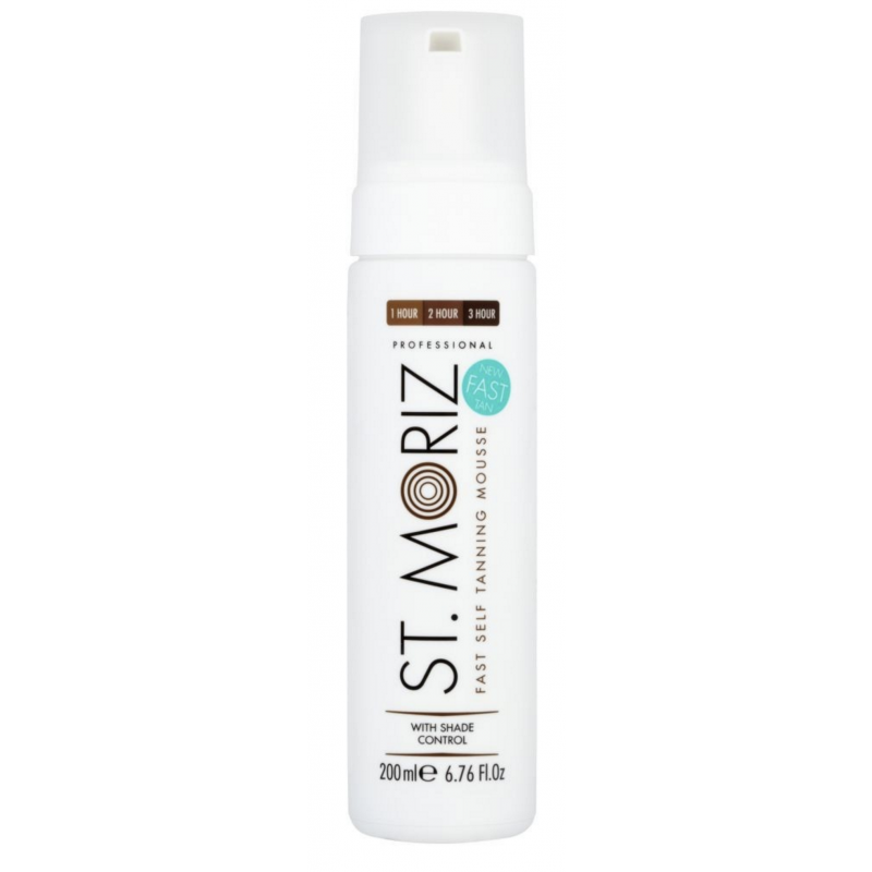St. Moriz Professional Fast Self Tanning Mousse