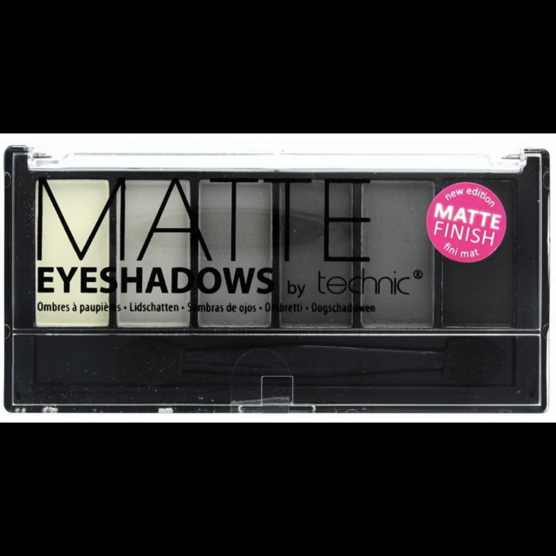 Technic Matte Eyeshadow Palette Smokey