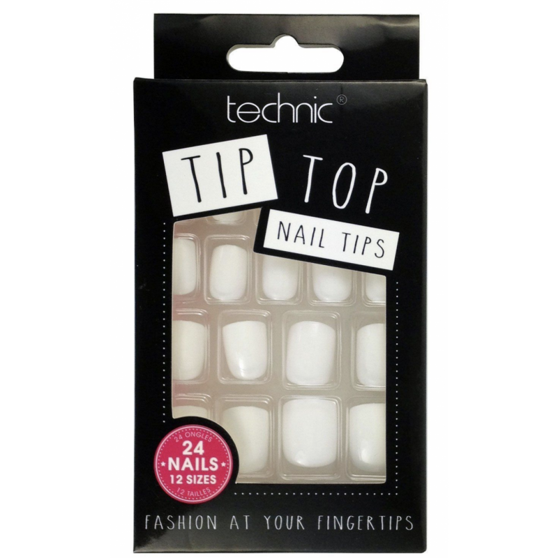 Technic Tip Top False Nail Tips White