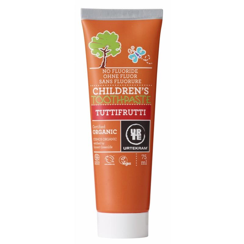 Urtekram Children Toothpaste Tuttifrutti Organic