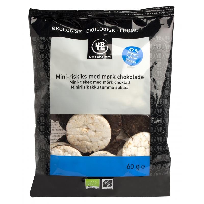 Urtekram Mini-Riskiks Mørk Chokolade Øko