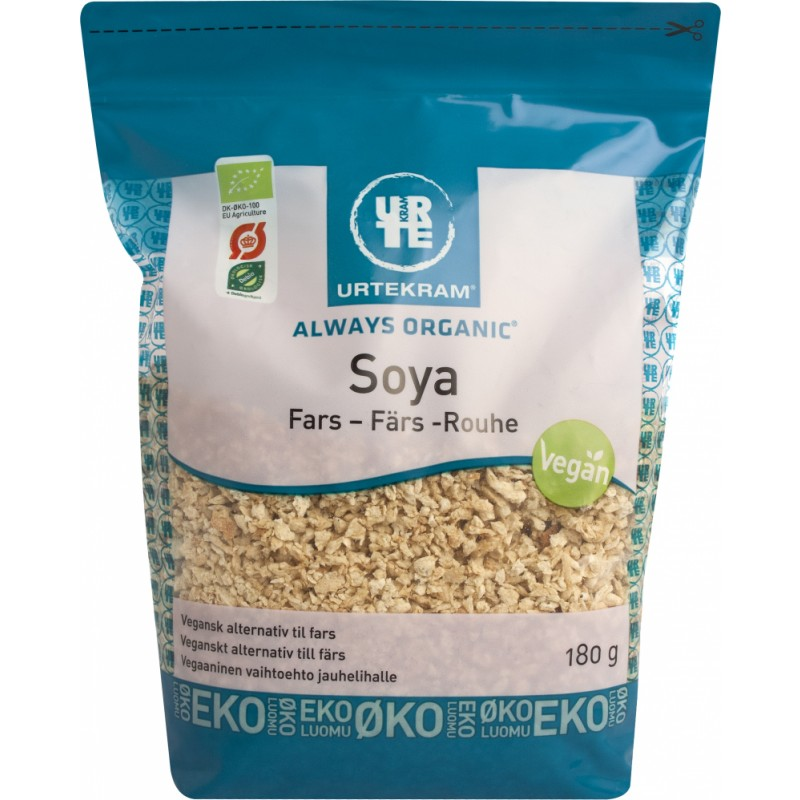 Urtekram Bio Soja-Granulat Fein