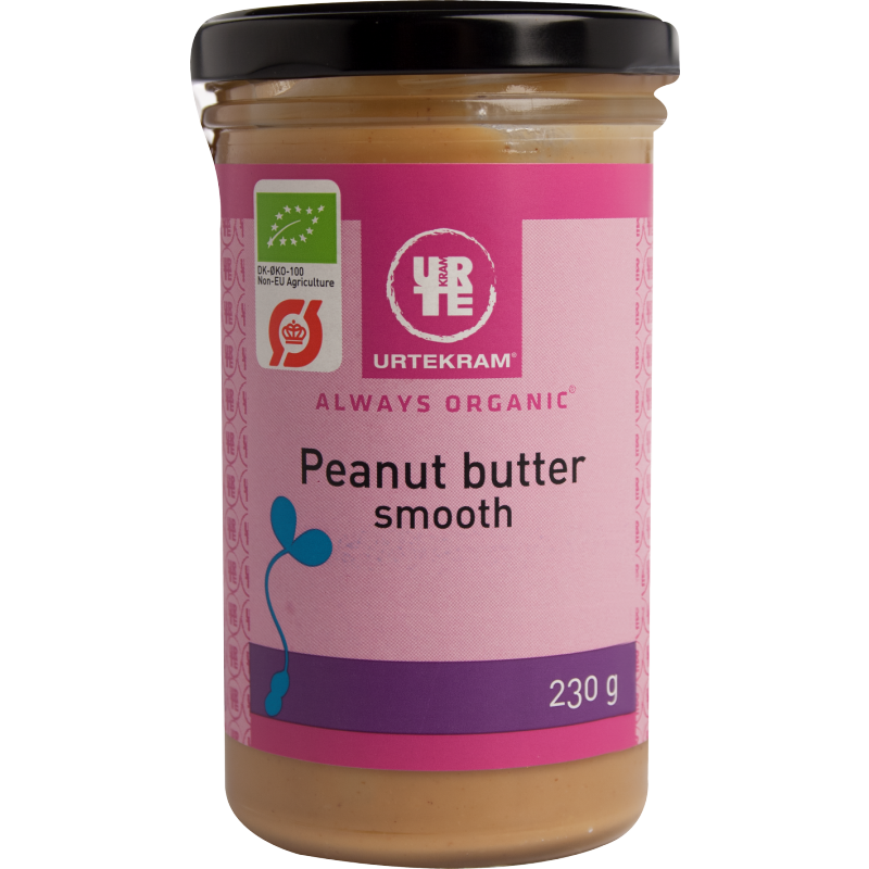 Urtekram Peanut Butter Smooth Øko