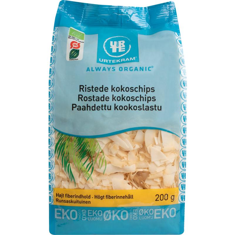 Urtekram Ristede Kokoschips Øko