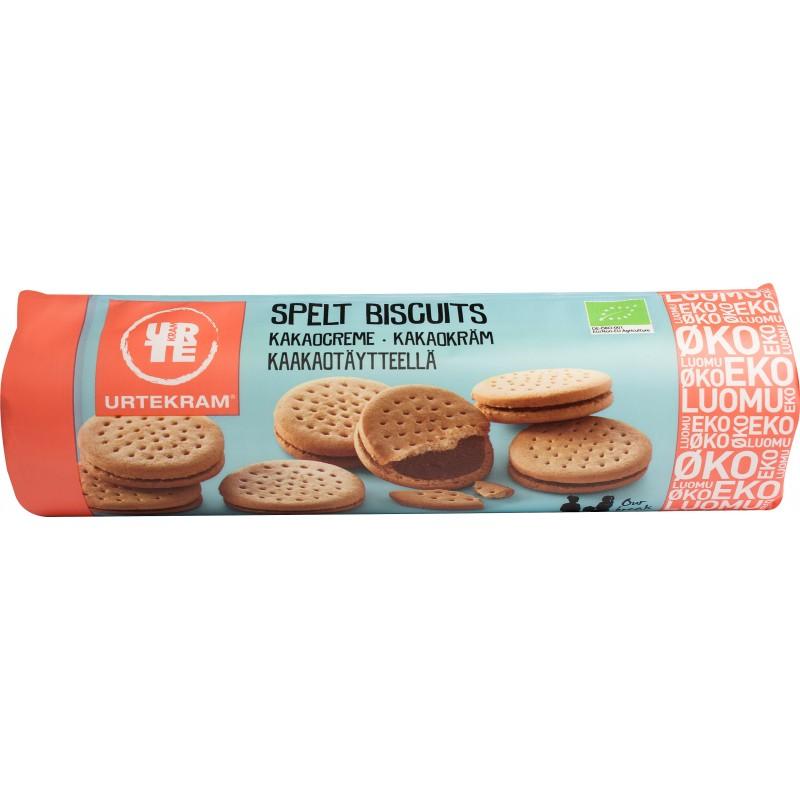 Urtekram Spelt Biscuits Kakaocreme Øko
