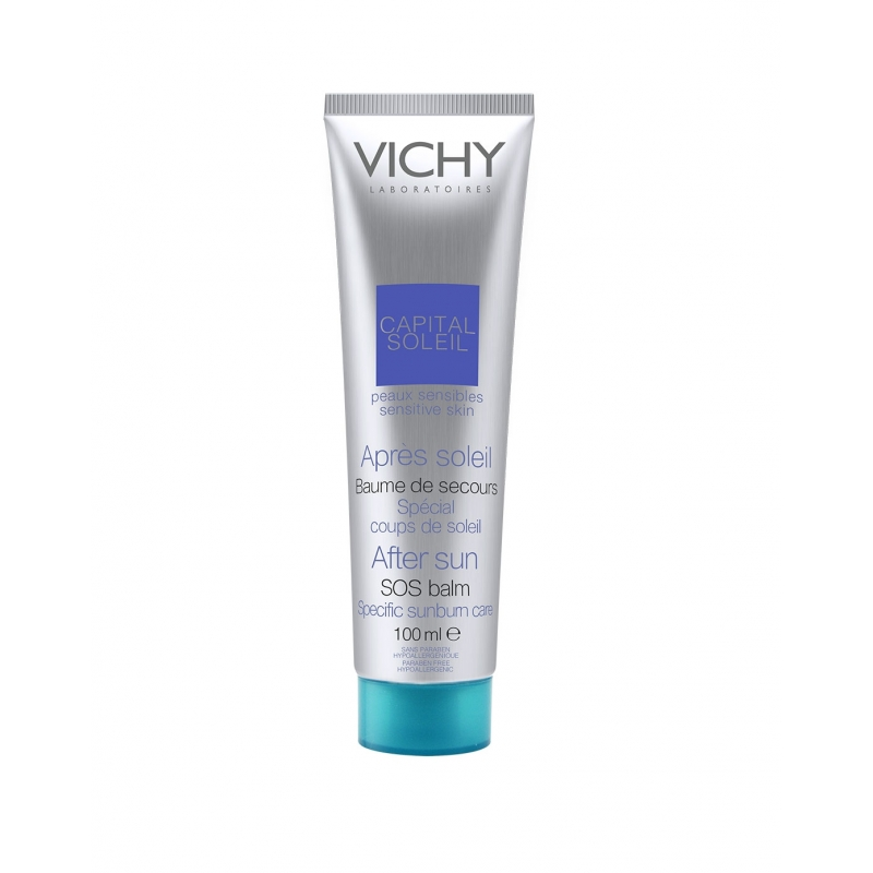 Vichy Capital Soleil After Sun Repairing Balm 100ml Shiseido - Bio Performance Super Corrective Serum - 50ml/1.7oz