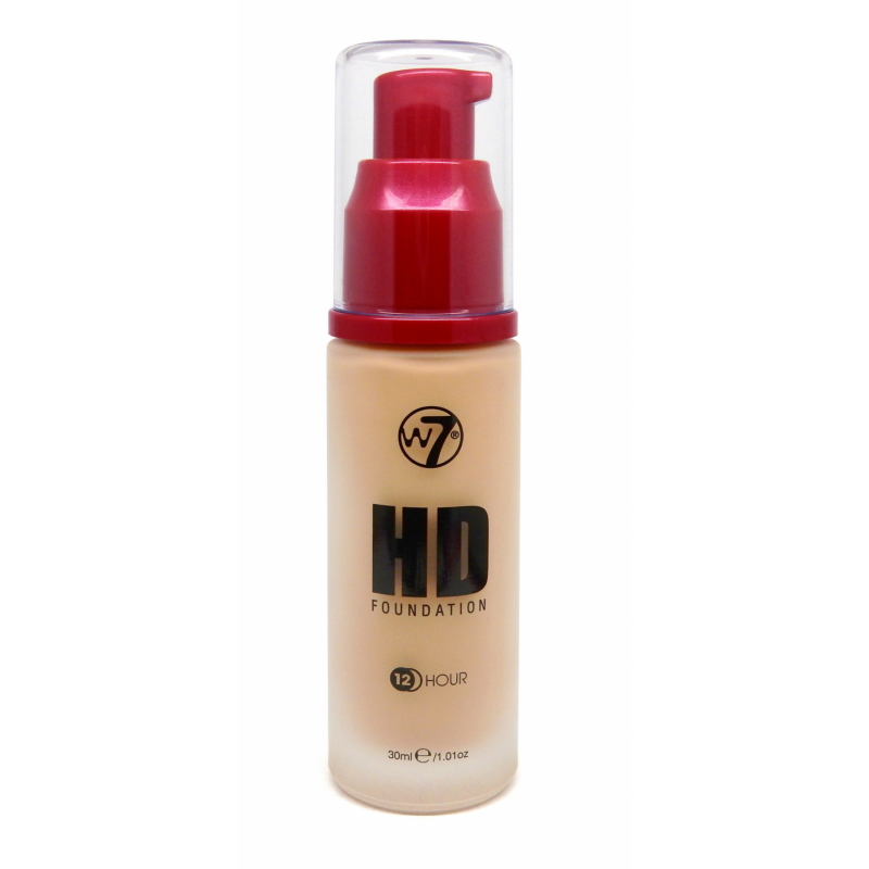 W7 HD Foundation Sand Beige