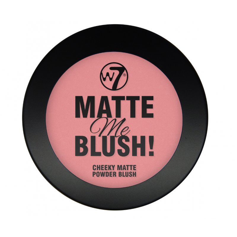W7 Matte Me Blush On The Edge