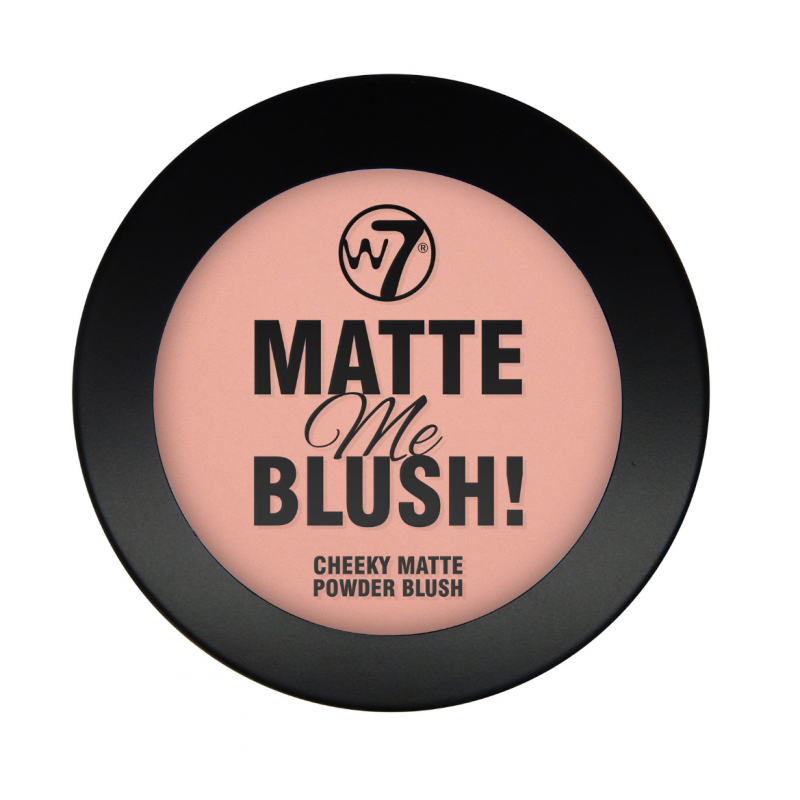 W7 Matte Me Blush Up Above