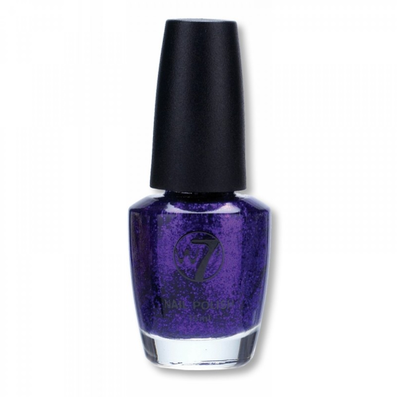 W7 Nailpolish 04 Purple Dazzle