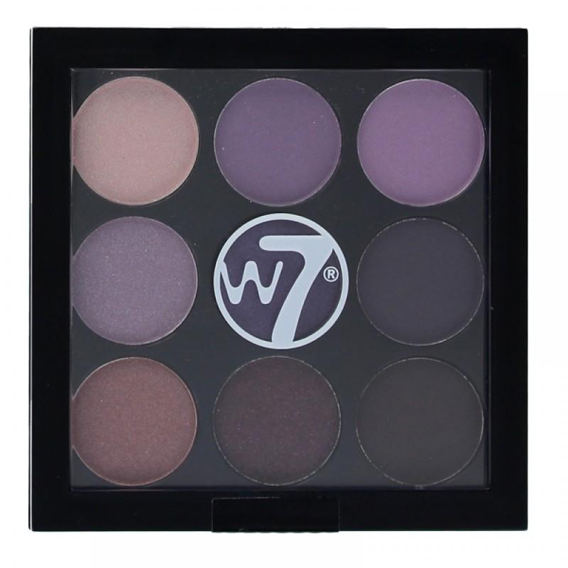W7 Naughty Nine Eyeshadow Palette Bangkok Nights