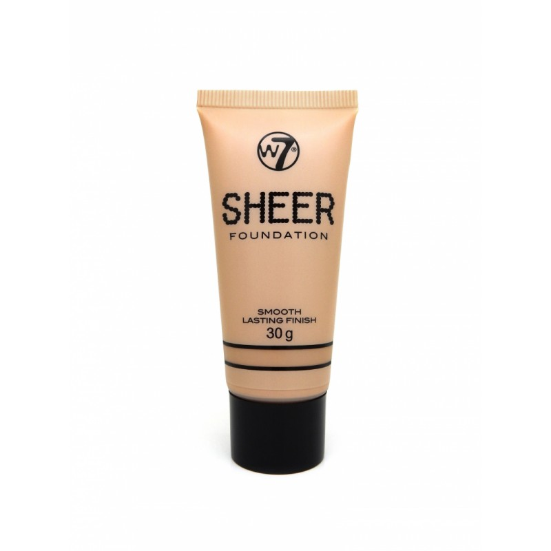 W7 Sheer Foundation True Beige